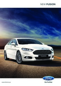 Ford Fusion Brochure