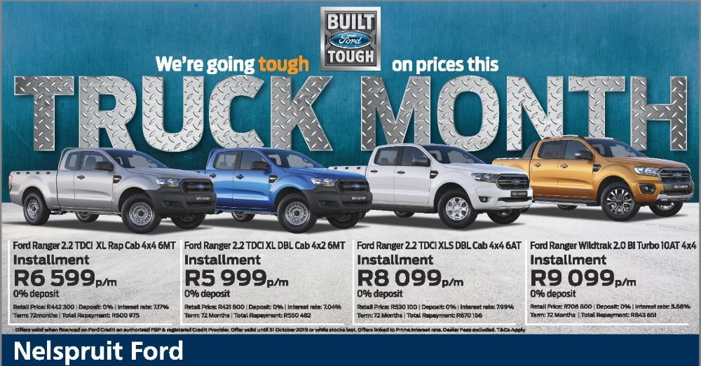 NELS FORD TRUCK MONTH website