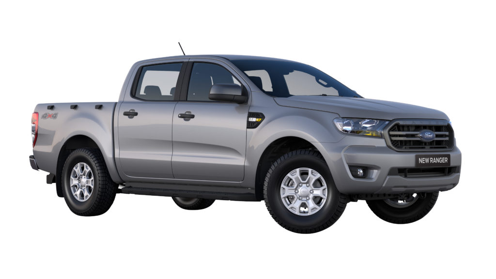 Mea South Africa RHD Black Plate Ford Ranger XLS Double Cab 2.2l 4×4 Moondust Silver